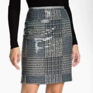 EUC Tory Burch Bristol Sequin Pencil Skirt sz 8